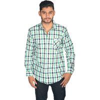 True Fashion Classy Cotton Casual Checkered Shirt