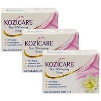West-Coast Kozicare Skin Whitening Soap (Pack of 3) (225 g)