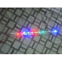 Multi Color Led Strip 12v  Smd 11 Led  Waterproof (Running Type) Set Of  2 Pcs
