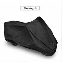 Yamaha R15 FZ-S FZS Bike Motorcycle Body Cover Black Color