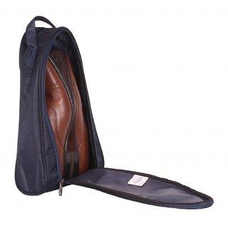 Shoe Bag - Travel Shoe Bags - Case / Pouch - Navy Blue Color - By Bags R Us