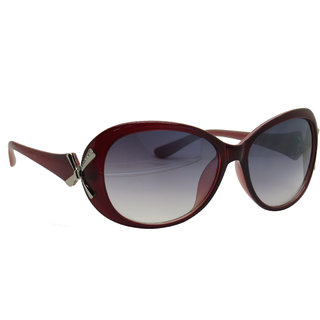Brown Designer Women Sunglasses By Royal Td10008