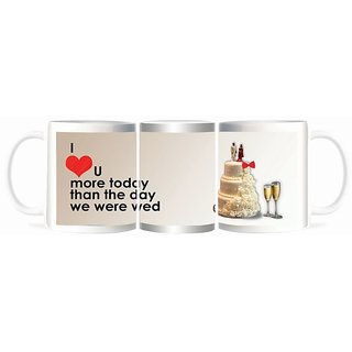 Refeel Gifts I Love You More Today Mugs