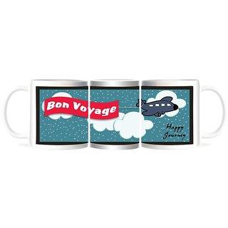 Refeel Gifts Bon Voyage - Happy Journey Gift Mugs