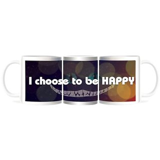 Refeel Gifts I Choose To Be Happy - Smile Mugs