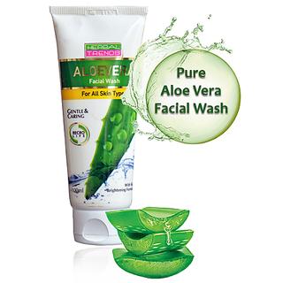 Herbal Trends Aloevera Facial Wash