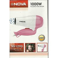 Nova 1000W NV 1290 Folding Hair Dryer