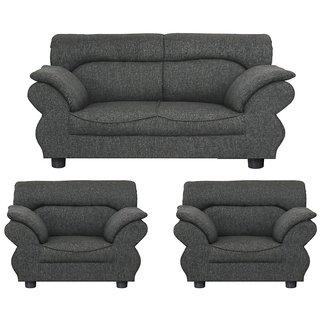 Gioteak Kingdom 4 seater sofa set in dark grey color with attractive design