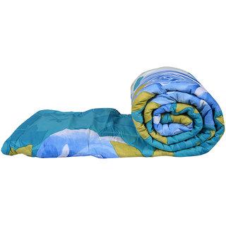 Just Linen 200 TC 100% Cotton Cartoon Design Multicolor Single Size AC Comforter