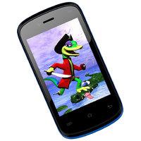Mtech Opal 3G Smart Blue 32Gb Dual Camera 3.5 Inch Display Smart Phone