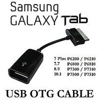 Usb Otg Host Pen Drive Cable For Samsung Galaxy Tab 10.1 8.9 P3100