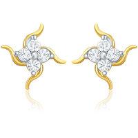 Mahi Shiny Swirl Earrings