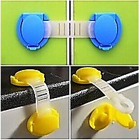 Baby Door Safety Locks 8 pcs. Very Useful Selling Item to Gift.