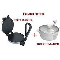 Electric Roti Maker Atta Maker Combo Set