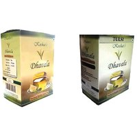 Green Tea 200 Gms Combo (Green Tea & Green Tea With Natural Tulsi)