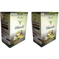 Green Tea 200 Gms Combo (Green Tea W/Tulsi And Green Tea W/Pineapple )