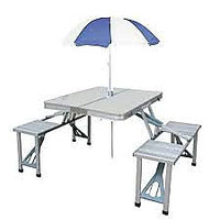 Aluminium Picnic Table Folding - 5138980