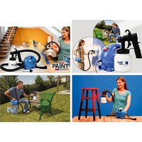 Original Paint Zoom Professional Electric Paint Sprayer Paint Gun 3 Way Spray