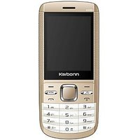 Karbonn K102 Plus Dual SIM Mobile Phone - Golden White