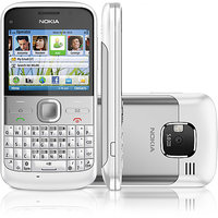 Nokia E5 (White) Housing Full Body Panel