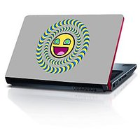 Smiley In Illusion 15.6 Inches Laptop Skin By Shopkeeda