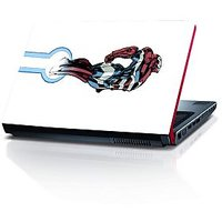 Captain America In Air 15.6 Inches Laptop Skin By Shopkeeda