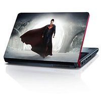 Superman In Snow Cave 15.6 Inches Laptop Skin By Shopkeeda
