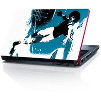 Running Girl 15.6 Inches Laptop Skin By Shopkeeda