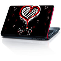 Awesome Love Hearts 15.6 Inches Laptop Skin By Shopkeeda