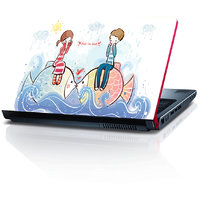 Boy And Girl Fall In Love 15.6 Inches Laptop Skin By Shopkeeda