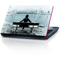 Boy Sitting On Banch 15.6 Inches Laptop Skin By Shopkeeda
