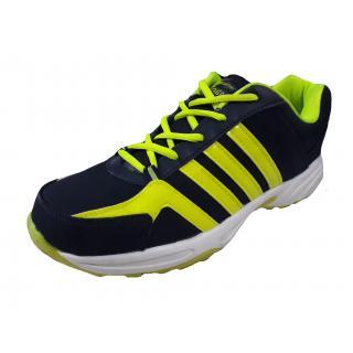 Port Mens Trendz917 Red Blue Mesh Sports Shoes