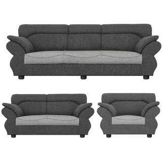 Gioteak Kingdom 6 seater sofa set in light grey color with attractive design