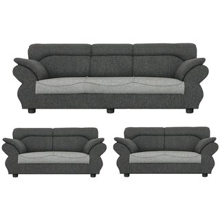 Gioteak Kingdom 7 seater sofa set in light grey color with attractive design