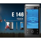 Fly E146 Dual Sim GSM + GSM Touch Screen Mobile, 2 MP Camera, Bluetooth
