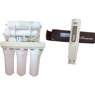 Undersink RO Water Purifier Filter 5 Stage Wall Hanging with Digital TDS Meter