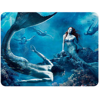 Beautiful Red And Purple Nature Mouse Pad By Shopkeeda
