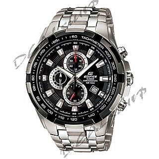 IMPORTED CASIO EDIFICE EF - 539 D -AV, Black Dial, Steel Chronograph Men Watch (Imported) - 5167290