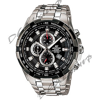 IMPORTED CASIO EDIFICE EF - 539 D -AV, Black Dial, Steel Chronograph Men Watch (Imported) - 5168006