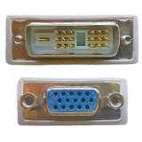 DVI-D 18+1 Pin Single Link Male To VGA Female Adapter Coupler Converter