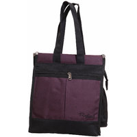OMAX_S_Multi-Purpose Bag Black & Purple By Radiant