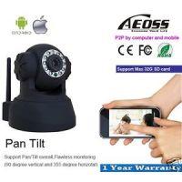 Aeoss IP Camera P2P Wi-Fi Wireless Security Camera IR LED 32GB SD CARD JW0009