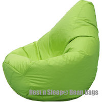Rest N Sleep - Bean Bags / Chair Cover Only - Pear Shape - Green Color -For Kids