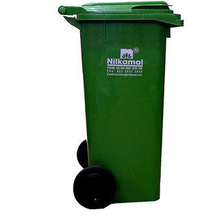 Nilkamal Waste Bin 120 Ltr. (Green)