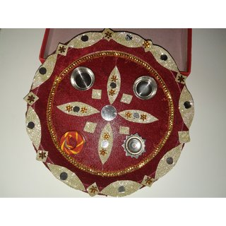 NEW POOJA THALI 1PCS
