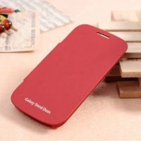 Samsung 7562 Flip Back Cover For Samsung Galaxy S Duos S7562 Red