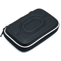 Hard Disk Drive Pouch Carry Case 2.5 Inch HDD Cover Seagate WD Dell Sony -Black