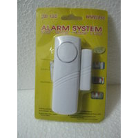 WIRELESS DOOR ALARM SECURITY SYSTEM FOR YOUR HOME - EASY TO ASSEMBLE - FREE SHIP