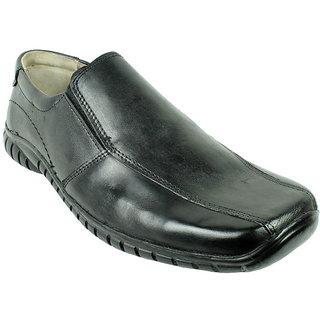 JerryMouse.in Mens Black Leather Formal Shoe - MFOR0052