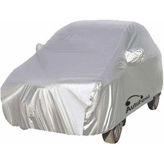 Autofurnish Premium Silver Car Body Cover For Fiat Abarth Punto - Premium Silver
